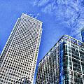 Canary Wharf London by David Pyatt