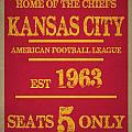 Kansas City Chiefs by Joe Hamilton