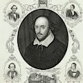 William Shakespeare (1564 - 1616) by Mary Evans Picture Library