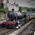3802 At Llangollen Station by Adrian Evans