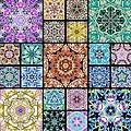 3d Cosmic Sample Grid by Derek Gedney