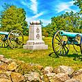 3rd Massachusetts Battery Gettysburg National Military Park by Bob and Nadine Johnston