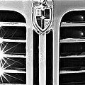 1948 Lincoln Continental Grille Emblem by Jill Reger