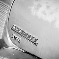 1949 Chevrolet 3100 Pickup Truck Emblem by Jill Reger