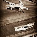 1955 Chevrolet Belair Hood Ornament by Jill Reger