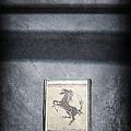 1956 Ferrari Emblem by Jill Reger