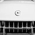 1957 Chevrolet Corvette Emblem by Jill Reger