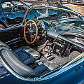 1959 Chevy Corvette Convertible Painted  by Rich Franco