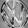 1959 Volkswagen Vw Panel Delivery Van Emblem by Jill Reger