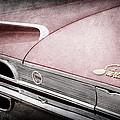 1960 Ford Galaxie Starliner Taillight Emblem by Jill Reger