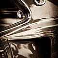 1969 Ford Mustang Mach 1 Emblem by Jill Reger