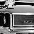 1972 Oldsmobile 442 Grille Emblem by Jill Reger