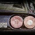 1989 Ferrari 328gtb Taillight Emblem by Jill Reger