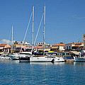 Aegina Port by George Atsametakis