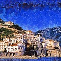 Amalfi Town In Italy by George Atsametakis