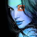Angelina Jolie by Marvin Blaine