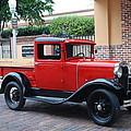 Antique Truck by Robert Floyd