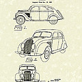 Automobile 1935 Patent Art by Prior Art Design