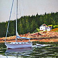Bass Harbor Light by Karol Wyckoff