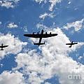 Battle Of Britain Memorial Flight by David Fowler