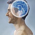Brain Scan, Conceptual Image by Science Photo Library
