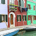 Burano Italy by Brandon Bourdages