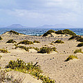 Caleta De Famara Beach On Lanzarote by Karol Kozlowski
