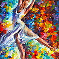 Candle Fire by Leonid Afremov