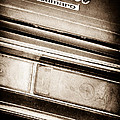 Chevrolet Camaro Taillight Emblem by Jill Reger