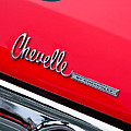 Chevrolet Chevelle Ss Taillight Emblem by Jill Reger