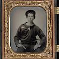 Civil War Sailor, C1863 by Granger