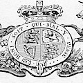 Coat Of Arms Great Britain by Granger