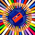 Colorful Pencils by George Atsametakis