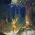 Cooper: Deerslayer, 1925 by Granger
