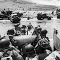 D-day Invasion by Underwood Archives