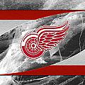 Detroit Red Wings by Joe Hamilton