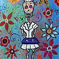 Dia De Los Muertos Nurse by Pristine Cartera Turkus