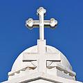 Dome Of Agios Georgios Chapel by George Atsametakis
