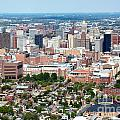 Downtown Baltimore by Bill Cobb