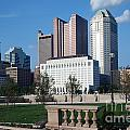 Downtown Skyline Of Columbus by Bill Cobb