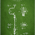 Drill Pounder Patent Drawing From 1922 by Aged Pixel