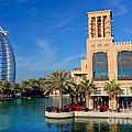 Dubai Skyline by Fototrav Print