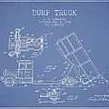 Dump Truck patent drawing from 1934 by Aged Pixel