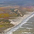 East Coast Aerial Near Jekyll Island by Betsy Knapp