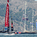 Emirates Team New Zealand by Gary Hromada