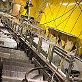 Escalator Construction Works by Frank Gaertner