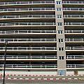 Facade Of Parking Building In Thailand by Ammar Mas-oo-di