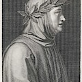 Francesco Petrarch  Italian Poet by Mary Evans Picture Library