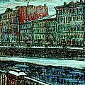 Griboyedov Canal by Anatoliy Sivkov