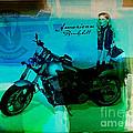Harley Davidson Ad by Marvin Blaine